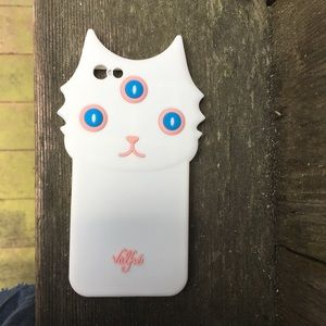 Accessories - 3 eyed cat phone case